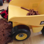 Chocolate Play Dough Activity