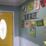 The Art Gallery… aka the Foyer