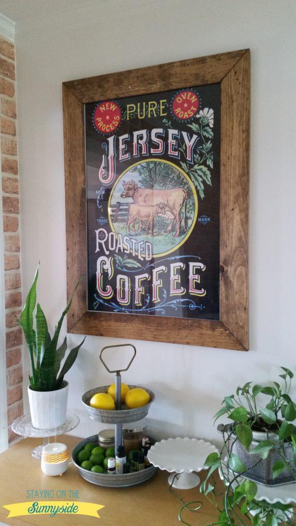 easy rustic wood frame